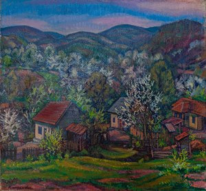 E. Kontratovych Spring In The Village', 1977