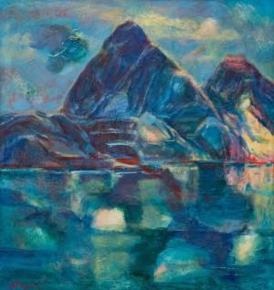 Мондич О. 'Тибет. Озеро Маносаровар', 2018