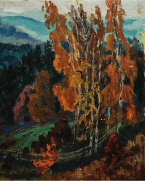 Пізня осінь, п.о., 68х52