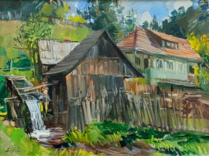 F. Erfan 'Old Mill', 2018