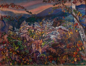 E. Kontratovych Fern. Late autumn', 1990