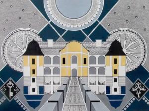 A. Stasiuk 'Palace Of Barons Perenyi'