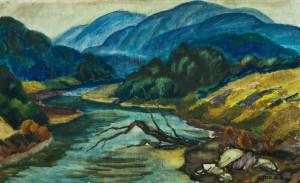 Річка в горах, п.о., 49х79
