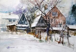Зимовий день в Міжгір'ї