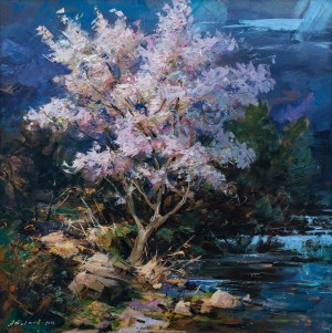 O. Fediaiev 'Blooming Tree', 2002