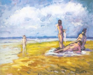 The Wild Beach, 1997, oil on canvas, 40x50