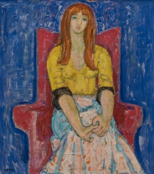 Кремницька Є. 'Дівчина', 1975
