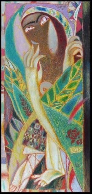 Муза, 2016, т.двп, левкас, жовткова емульсія