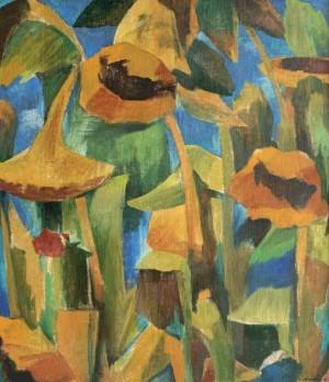 Соняшники, 2013, к.а. 80х60