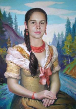 Ганна-Марія, 2009, п.о., 70х50