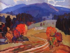 Воловецька осінь, 1978, п.о. 70х90