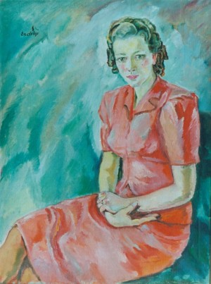 Portrait of Klementyna Kliuka, 1939