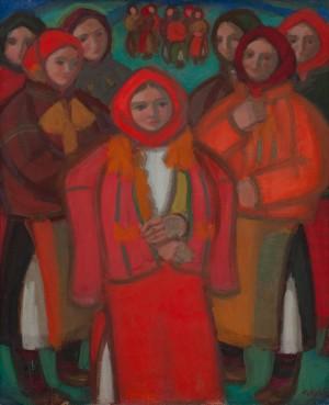 A. Kotska 'Hutsul Girls', 1965