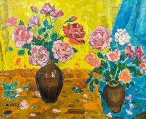 Троянди, 1977, п.о., 64х79