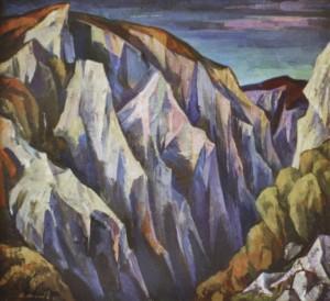 Словацькі каньони, 1987, к.т. 72х80