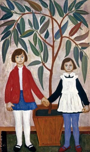 Сестрички, 1968, п.о, 137х80