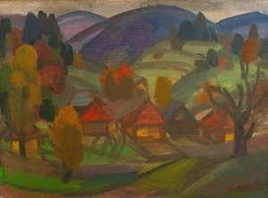 Коцка А. 'Осінній мотив', 1980