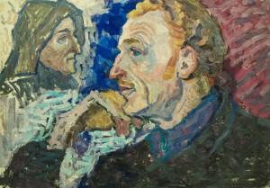 Чоловічий портрет, к.о., 49,5х70