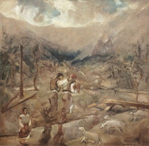 Before the Storm, 1940, oil on canvas, 76x80