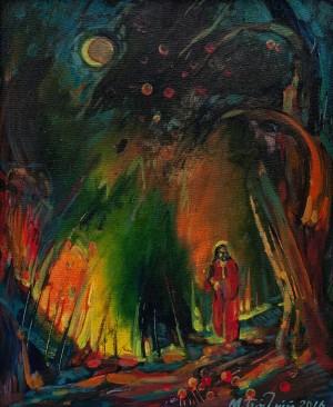 M. Bahnii 'Night In Paradise Garden'