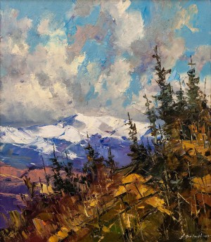 O. Fediaiev 'The Sky Over The Carpathians', 2007