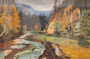V. Hanzel Autumn Motif'