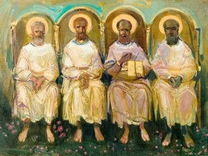 From the Revelation of John, 2004, oil on canvas, 60x80