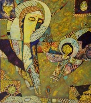 Між небом і землею, 1995 – 1997, т.двп, левкас, жовткова емульсія