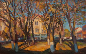 Вовчок В. 'Площа Шандора Петефі', 2005