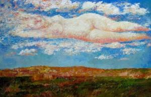 'Дивна хмара', 1995, 100х160