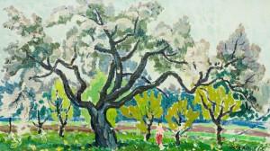 Яблучний сад, п.о., 40х70