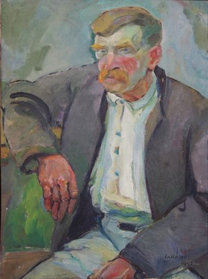 Старий циган, 1940, ф.о. 81х62