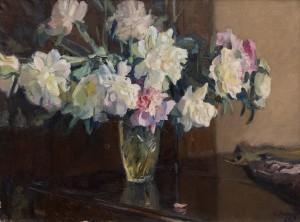 H. Melikhov White Peonies', 1958