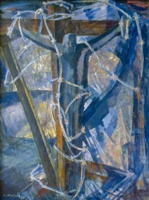 Розп'яття (Присвячується репресованим), 1989, п.а. 97,5х73