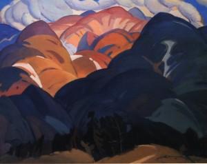 Гірська далечінь, 1969, п.о. 100х120