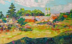 Вовчок В. 'Погляд з Ужгородського замку', 2017