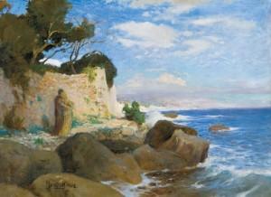 Untitled, 1902, oil on cardboard, 54x71,5