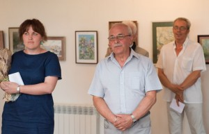 OLEKSANDR BALOH PRESENTED JUBILEE EXHIBITION IN UZHHOROD