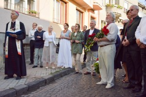It was opened the memorial plaque to Zoltan Mychka in Mukachevo