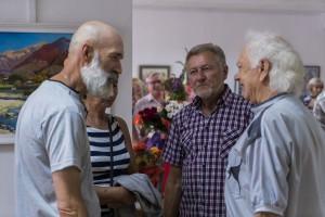 PERSONAL JUBILEE EXHIBITION OF LIUBOV SLOBODSKA IN UZHHOROD