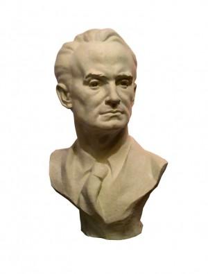 Bust Of A. Erdeli, 2016, gypsum, 80x50x35