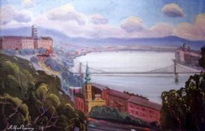 Будапешт, 1991, п.о., 58х90
