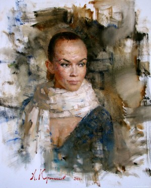 Tamara, 2012, oil on canvas, 75x60