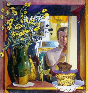 Self-portrait 1985.oil on canvas80х80