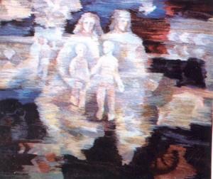 Сім'я, 1998, гоб.,вов., руч.ткац., 192х227