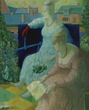 Карпаччо в Ужгороді, 2006, п.о., 100х80