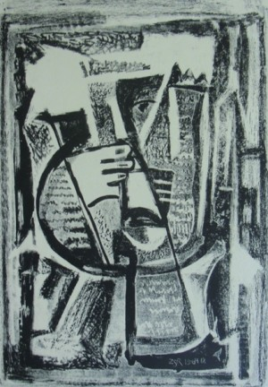 'Graphic Sheet', 1964, litography on paper, 33x23