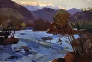 Гірська річка, 1978, к.о. 35х51,5