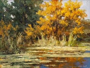 Федяєв О. 'Пейзаж', 2010