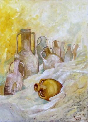 V. Kosto Amphora In The Sand'